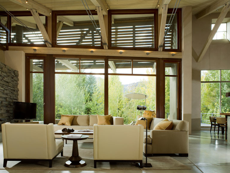 Inspiration for a contemporary exterior home remodel in Boise