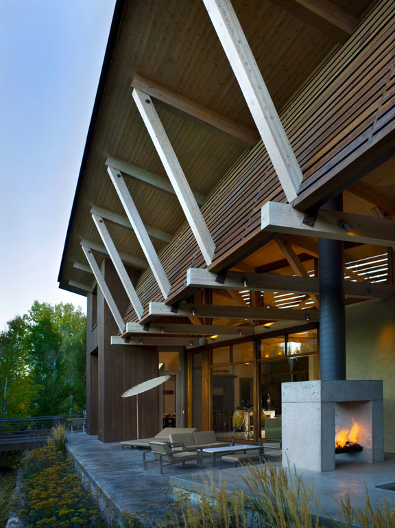 Example of a trendy exterior home design in Boise