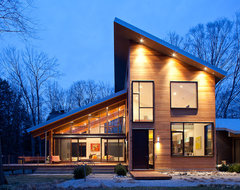 Pigeon Creek Residence contemporary-exterior