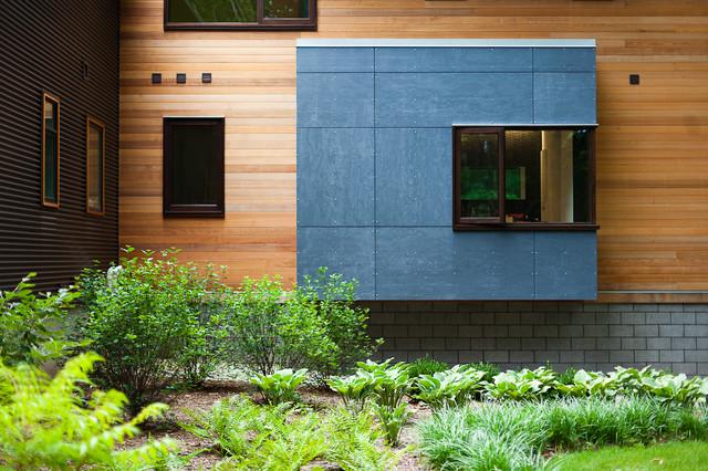 Pigeon Creek Residence contemporary-exterior