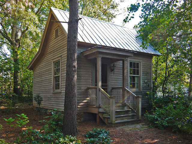 Pine street guest house rustic exterior by hall for Garden room joseph smith building