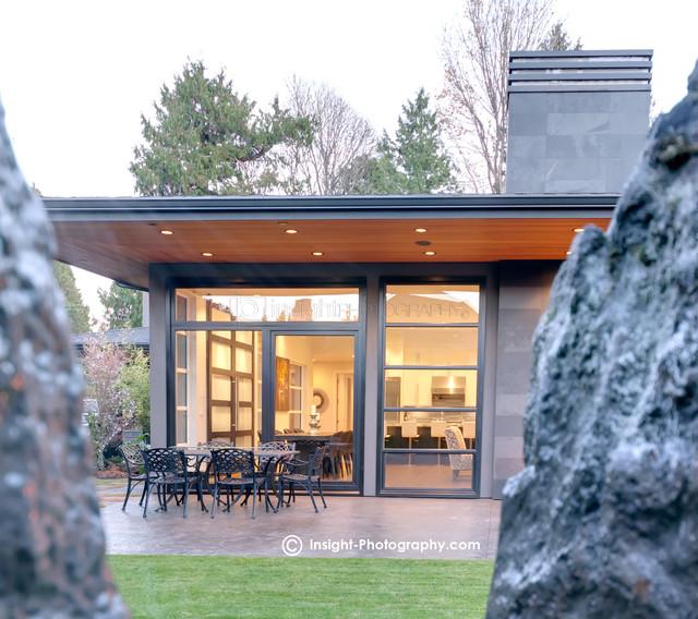 Pinnacle Homes contemporary-exterior