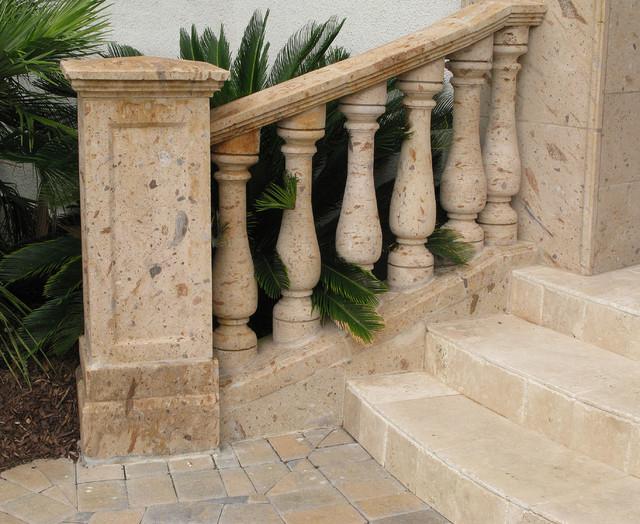 Pinon Balustrade mediterranean-exterior