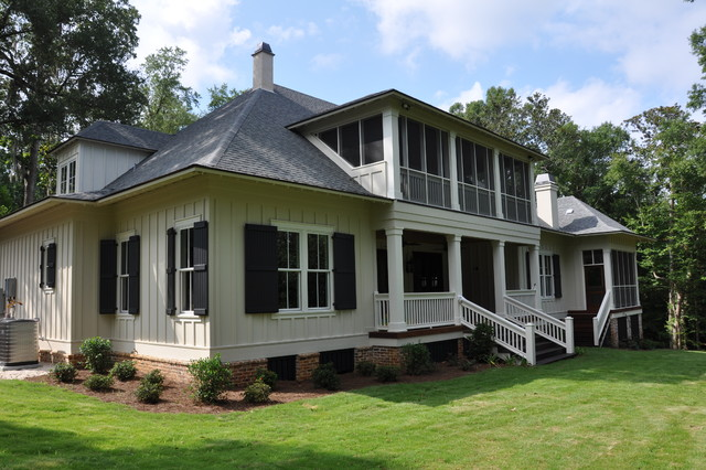 Pittman home craftsman exterior other by bob for Bob chatham house plans