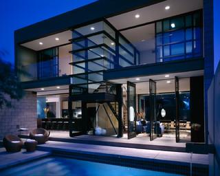 pivot-slide house | 4 degrees - Modern - Exterior - Phoenix - by 180 degrees