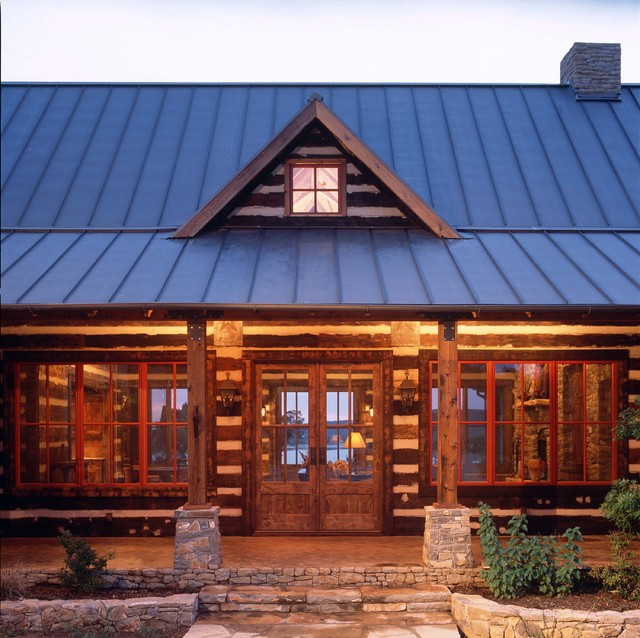 PK LAKEHOUSE | front elevation traditional-exterior