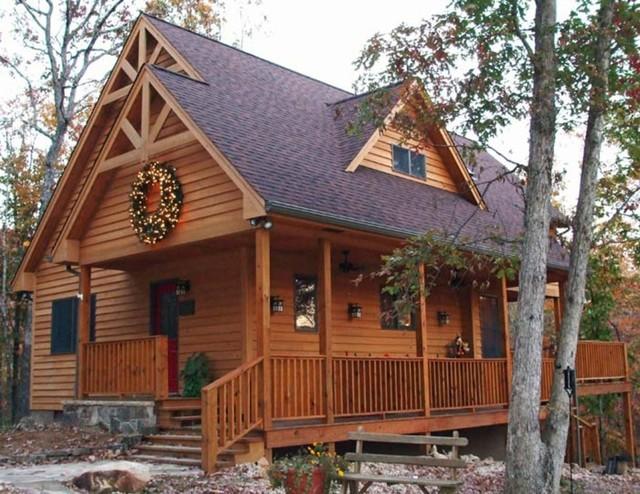 Plan 118-102: Craftsman cabin traditional-exterior
