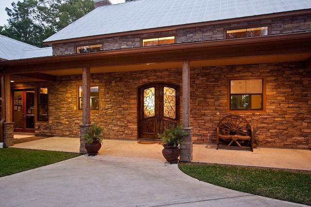 Plan 140-149: Modern Ranch traditional-exterior