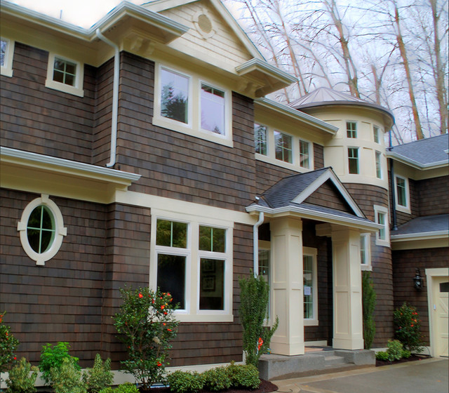 Plan 23495JD: Lake Front Shingle Style Home traditional-exterior