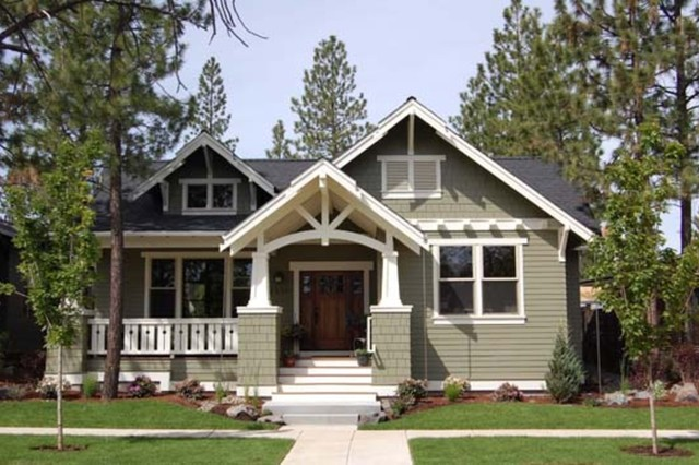 plan 434 17 craftsman home traditional exterior - Craftsman Home Exterior