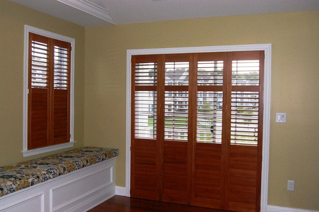 plantation shutters traditional exterior boston by