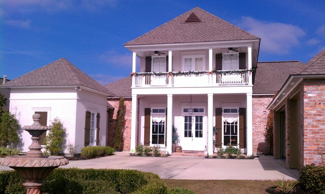 Plantation Style Homes Exterior New Orleans By