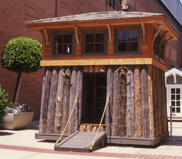 Playhouse eclectic exterior