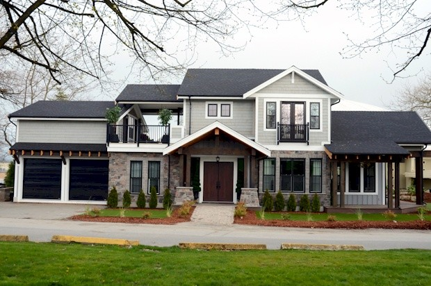 PNE Prize Home 2013 traditional-exterior
