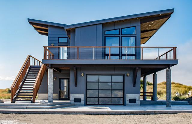 Pnw Contemporary Modern Island Beach House Contemporary