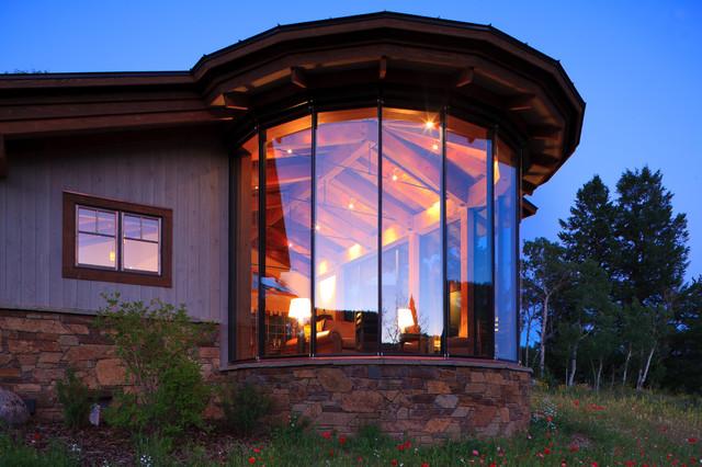 Pocket Ranch modern-exterior