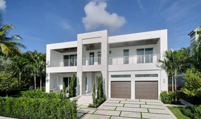 Poinciana tropical modern modern exterior other by for Modern tropical house exterior