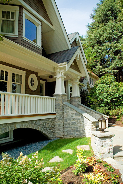Point Grey Traditional craftsman-exterior