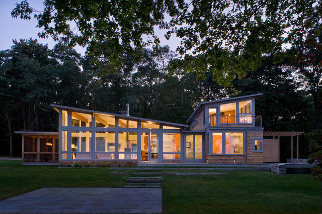 Pojac Point House Contemporary Exterior Providence