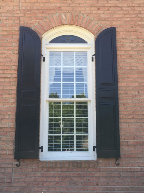 Polo Country Club Traditional Exterior Atlanta By Real Cedar Shutters