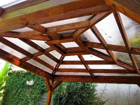 Polycarbonate Pergola - Modern - Exterior - los angeles - by Harwell ...
