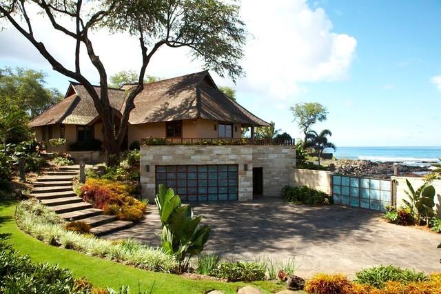 Polynesian Balinesian Asian Exterior Hawaii By