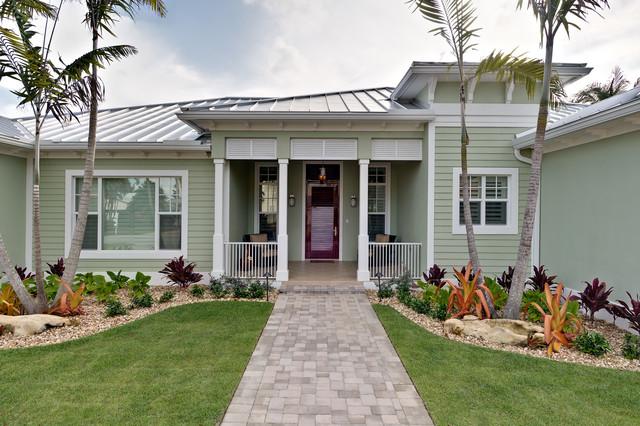 Pompano Beach Custom Home Tropical Exterior Miami