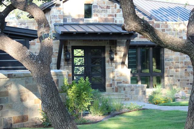 Ponderosa Ranch House Traditional Exterior Austin