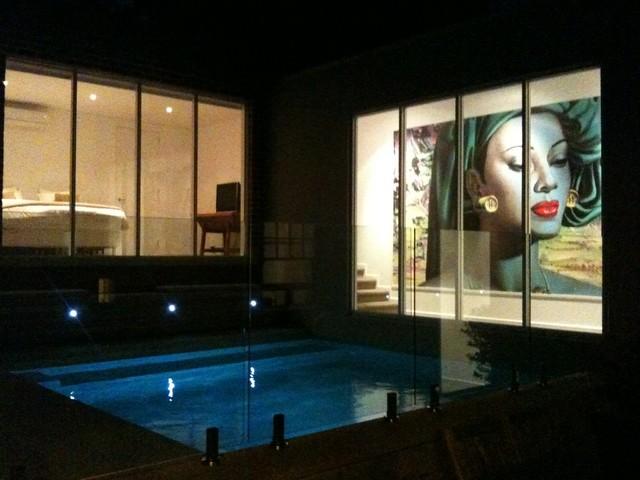 Pool Area contemporary-exterior