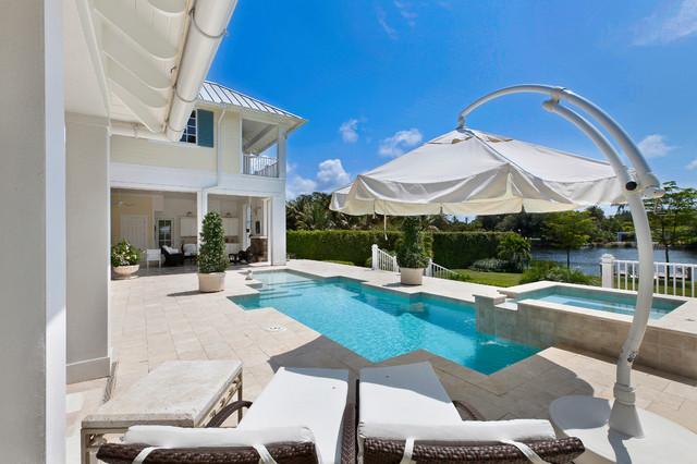 West Indies House Design tropical-exterior