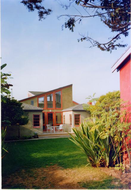 Pop Up House contemporary-exterior