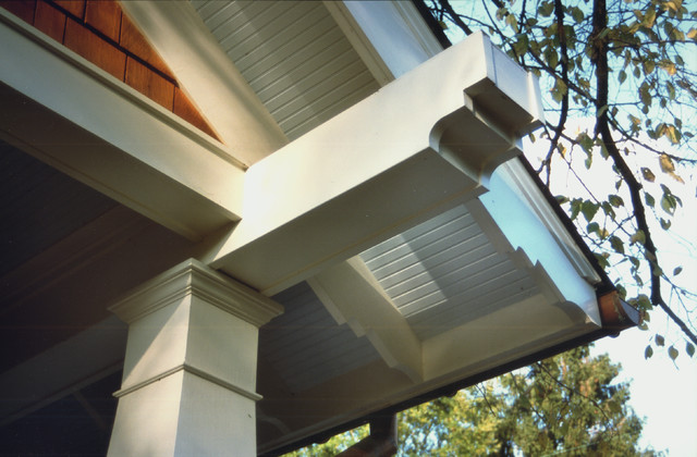 Porch Beam Detail Craftsman Exterior Dc Metro By