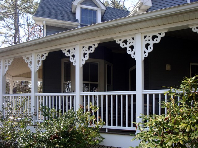 Porch brackets traditional exterior other metro by for Exterior house brackets