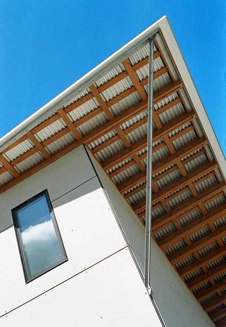 Port Hadlock Cabin modern-exterior