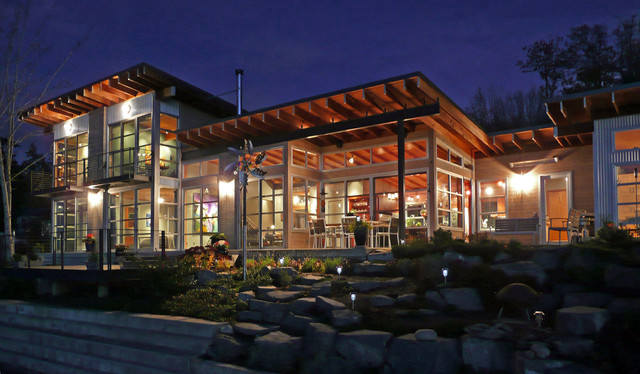 Port Orchard Residence 01 contemporary-exterior