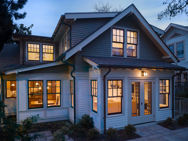 Inspiration For A Craftsman Two Story Wood Exterior Home Remodel In DC Metro