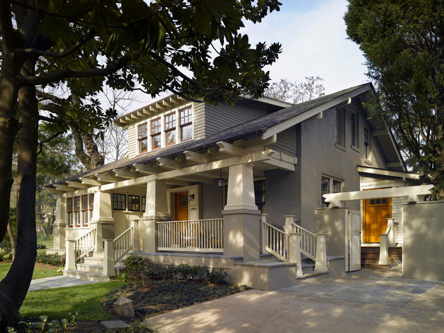 Porter Street Bungalow Craftsman Exterior Dc Metro By Moore Architects Pc