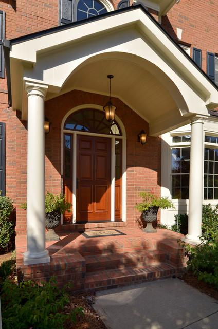 Portico & Screen Porch traditional-exterior