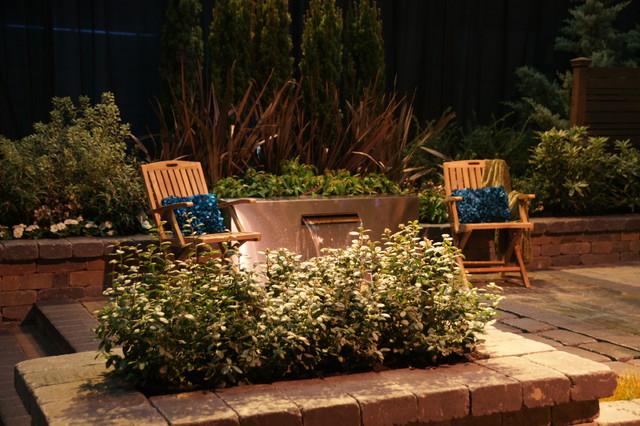 Portland Home Garden Show Exterior Portland By Cornerstone Hardscapes
