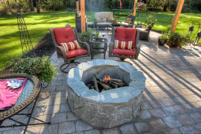 Portland Patio's Landscaping traditional-exterior