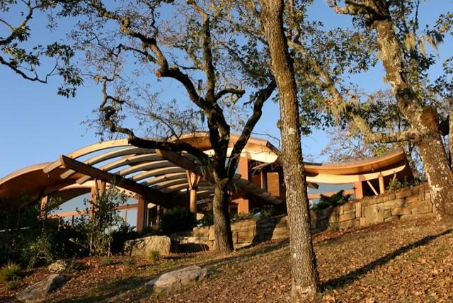 Portola Valley Residence contemporary-exterior