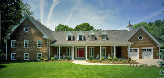 Potomac md brick ranch home to nantucket style for New ranch style homes in maryland