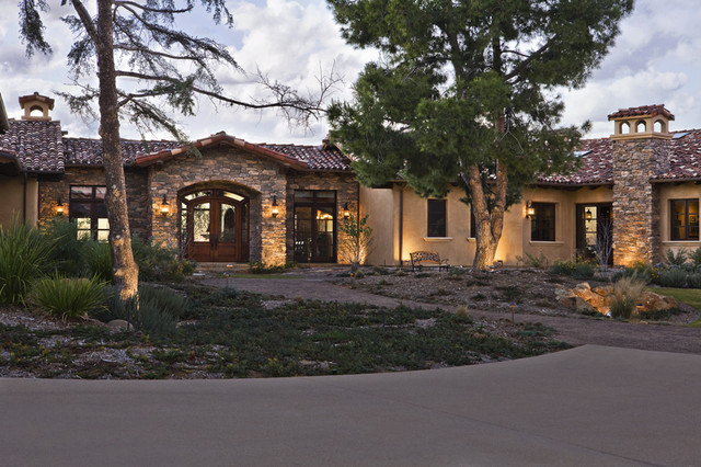 Poway residence for Big one story homes