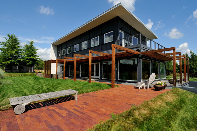 Prairie House No. 2 - Contemporary - Exterior - Minneapolis - by ...
