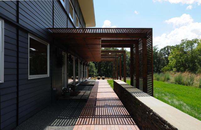 Prairie House No 2 Contemporary Exterior