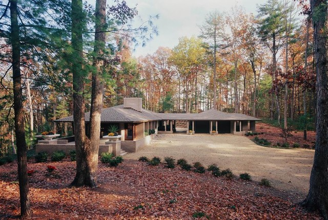 Watch besides Ranch Home Kitchen Remodel Contemporary Kitchen St Louis likewise Craftsman Style Home Interiors Craftsman Kitchen Richmond likewise Affordable Modern Ranch Modern Exterior Atlanta together with Prairie Style Architecture Contemporary Exterior Richmond. on landscape ranch style house