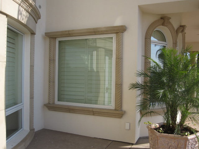 Exterior Architectural Accents : Precast architectural trim and accents mediterranean