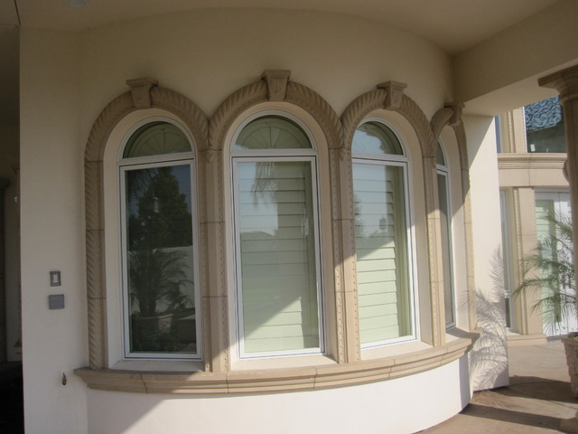 Precast architectural trim and accents mediterranean for Architectural trim