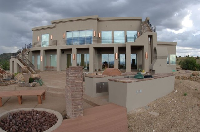 Prescott Arizona Residence Contemporary Exterior