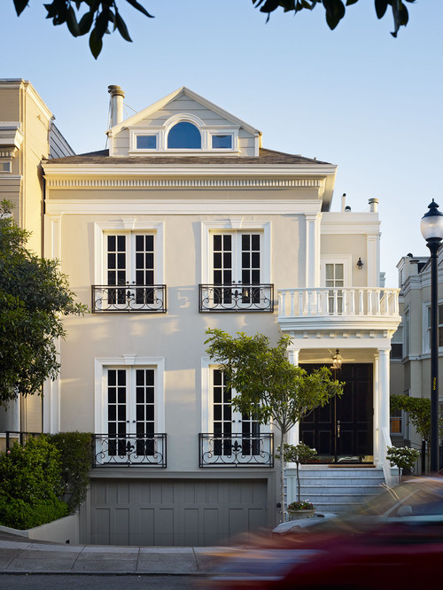 Presidio Heights Residence traditional exterior